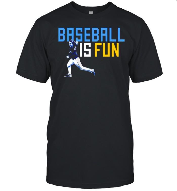 Brett Phillips baseball is fun tshirt