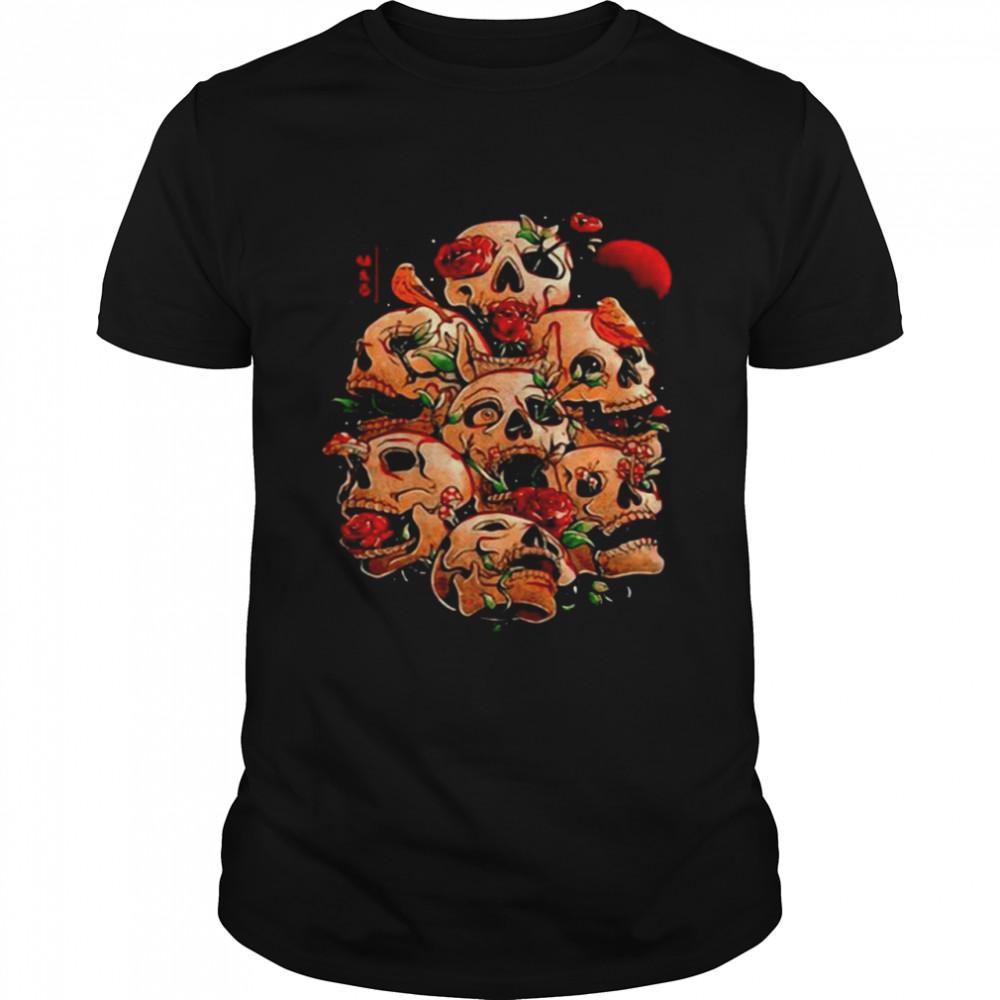 Life Grows Through Death T-shirt