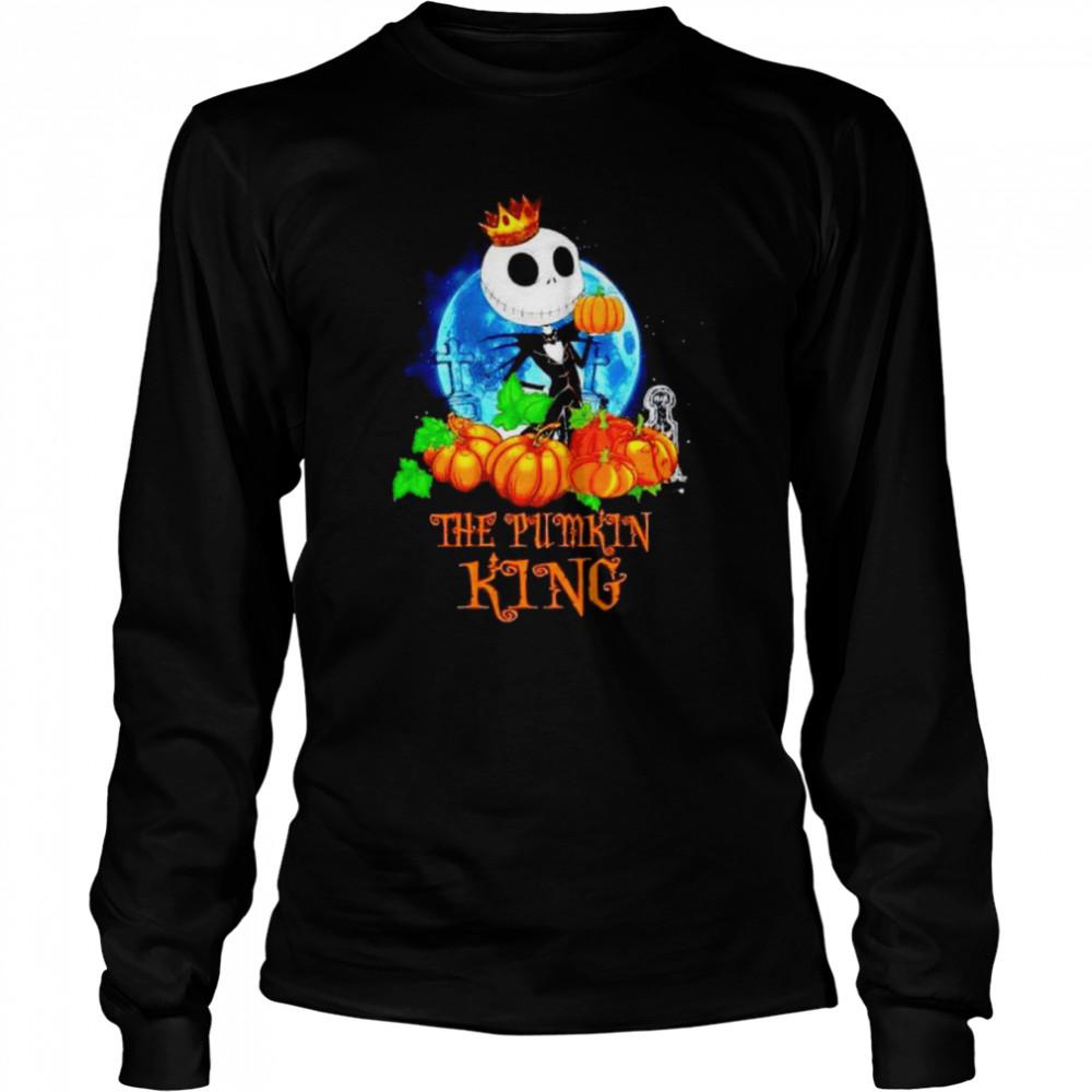 Jack Skellington the pumpkin King shirt Long Sleeved T-shirt