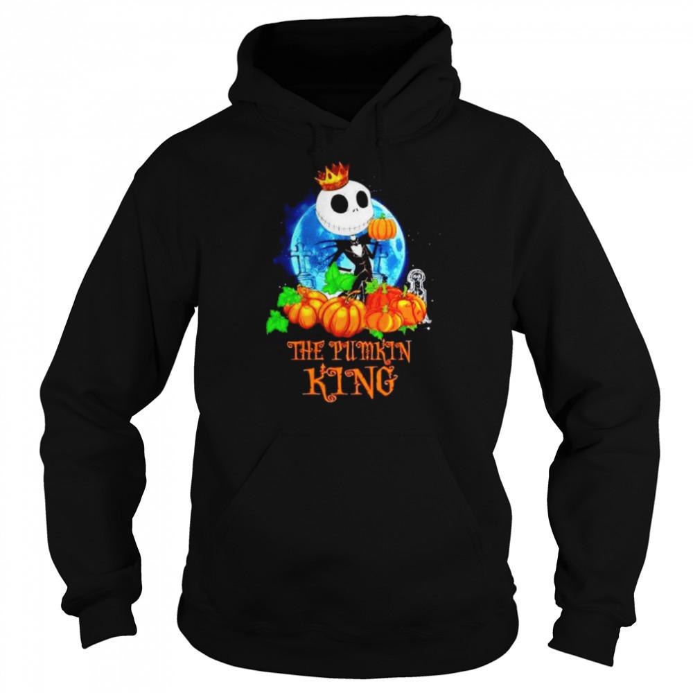 Jack Skellington the pumpkin King shirt Unisex Hoodie