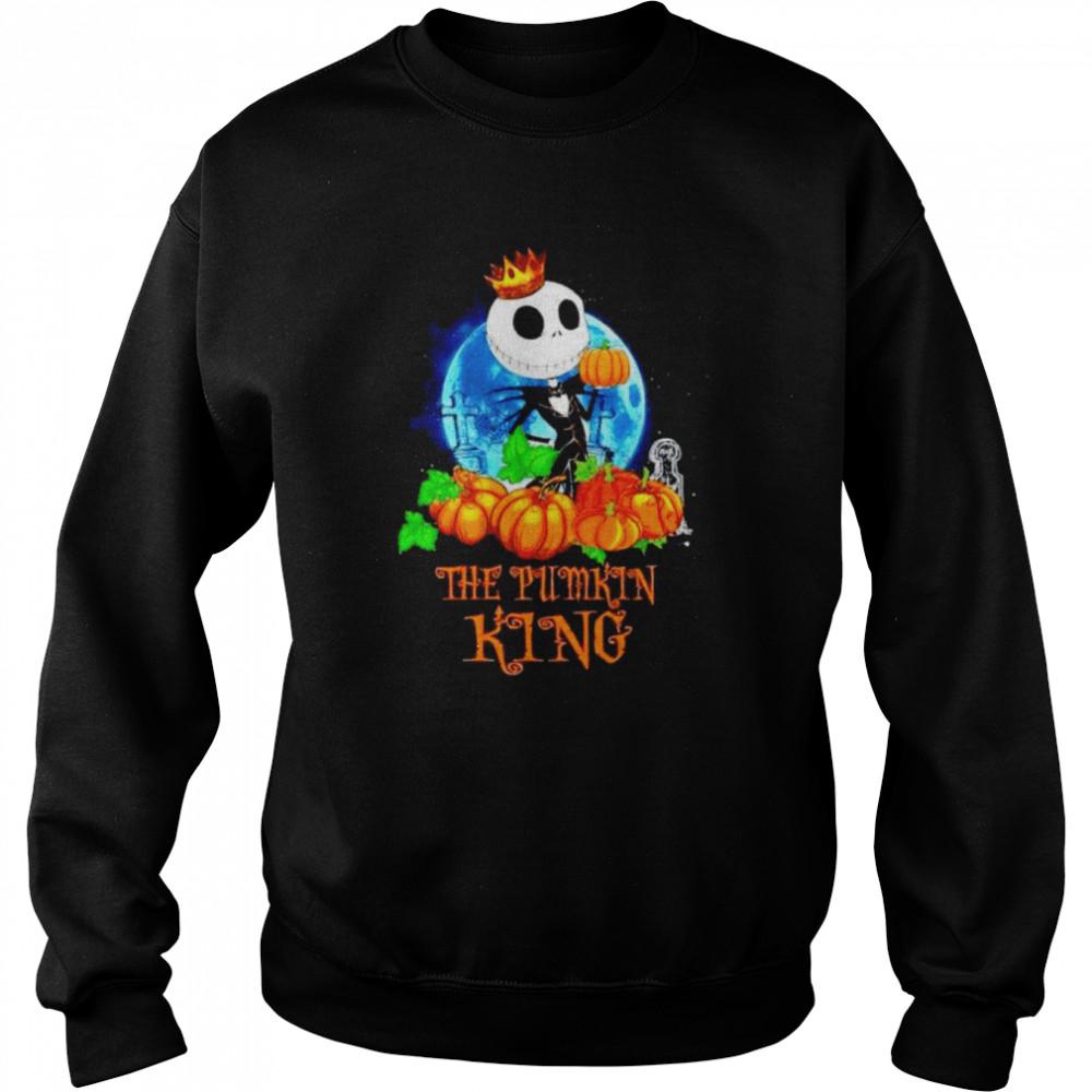 Jack Skellington the pumpkin King shirt Unisex Sweatshirt
