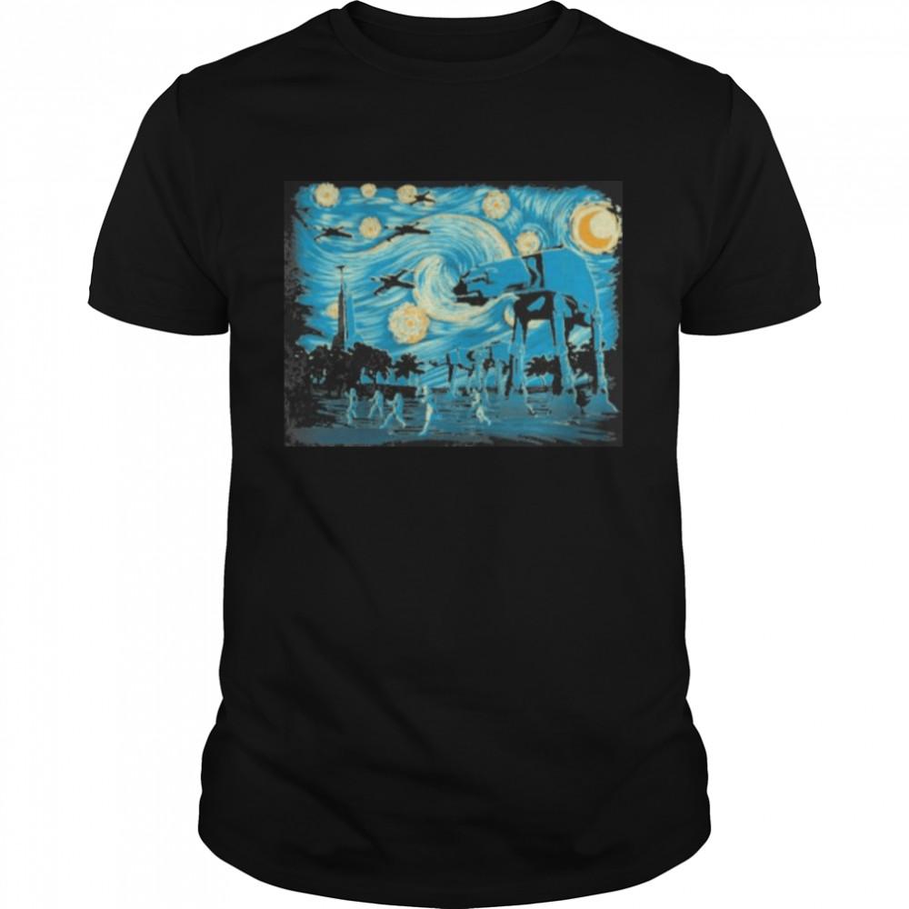 Starry Scarif Night Shirt