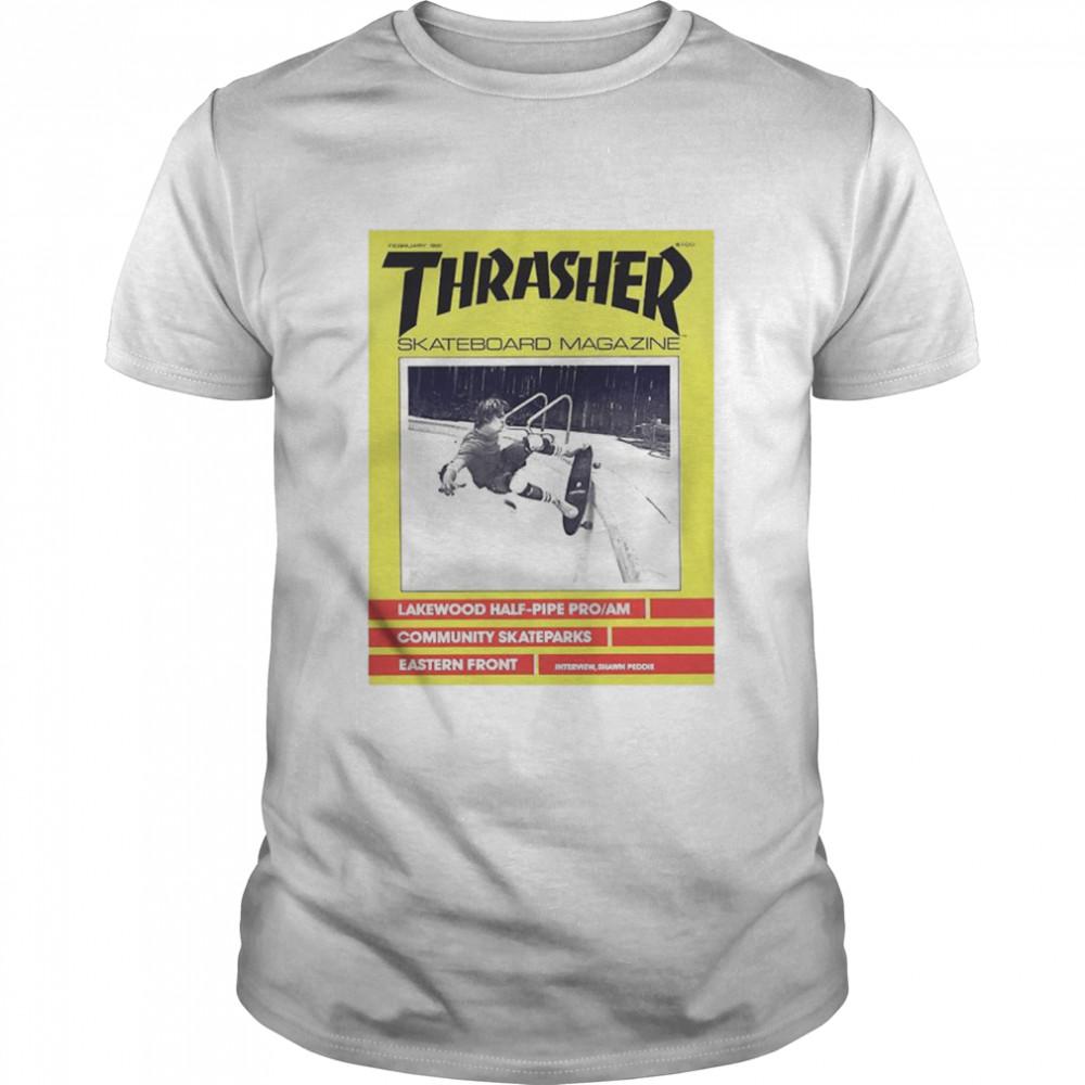 Thrasher Skateboard Magazine Lakewood Half Pipe Pro shirt