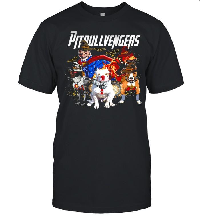 Pitbull vengers avenger shirt